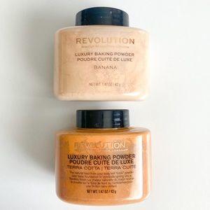 NEW Makeup Revolution Luxury Baking Powder Duo